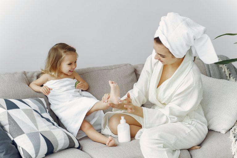 Praktische Bademäntel für die ganze Familie