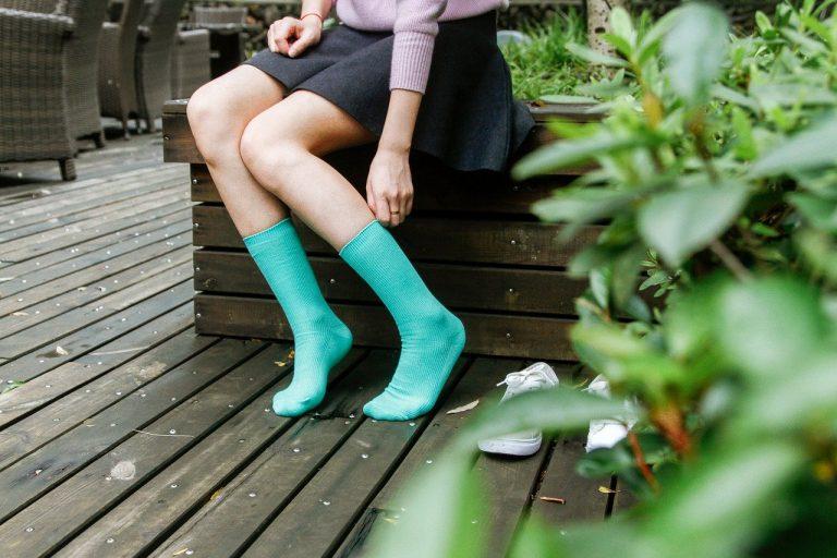 Wie passt man Socken zu seinem Outfit?